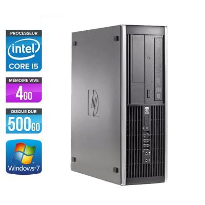 HP Elite 8300 SFF - i5 - 4Go - 500Go - Windows 7