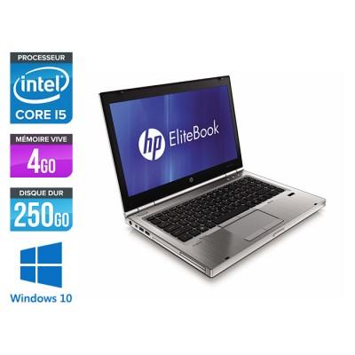 HP EliteBook 8460P - i5 - 4Go - 250Go HDD - Windows 10