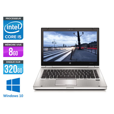 HP EliteBook 8460P - i5 - 8Go - 320Go HDD - Windows 10