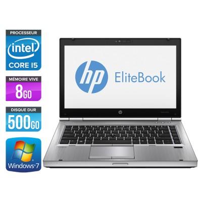 HP EliteBook 8470P - Core i5 - 8Go - 500Go
