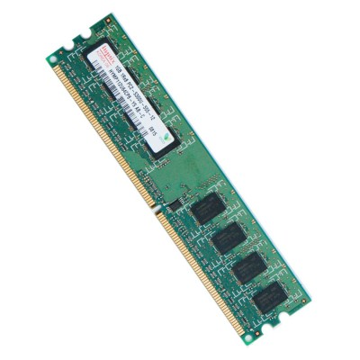 Ram Barrette Mémoire HYNIX 1Go DDR2 PC2-5300U 667Mhz - HYMP112U64CP8-Y5
