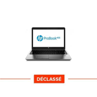 Ordinateur portable pro reconditionné - HP ProBook 455 G1 - AMD A4-4300M - 4Go - 500Go HDD - 15.6'' - Win10 - Déclassé