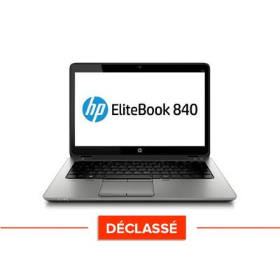 Pc portable - HP Elitebook 840 - i5 4300U - 8Go - 240 Go SSD - Windows 10 - Trade discount - Déclassé