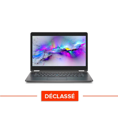 Pc portable reconditionné - Dell Latitude E7470 - Core i5 - 8 Go - 120Go SSD - Windows 10 - Déclassé