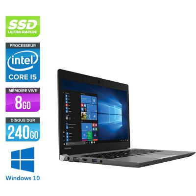 Img Pc portable - Toshiba Portégé Z30-B - i5 - 8Go - 240Go SSD - W10 - 13-3 HD