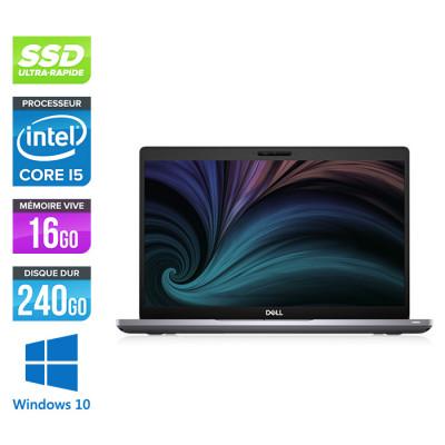 Pc portable - Dell Latitude 5410 reconditionné - i5 10310U - 16Go DDR4 - 240 Go SSD - Windows 10