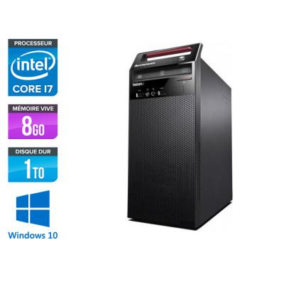 Lenovo ThinkCentre E73 Tour - Core i7 - 8Go - 1To - Windows 10