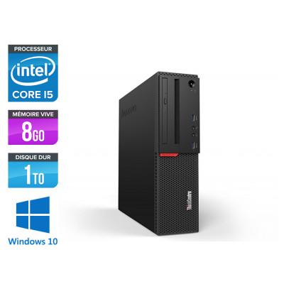 Pc de bureau reconditionne Lenovo ThinkCentre M700 SFF - Intel core i5-6400 - 8Go RAM DDR4 - 1To HDD - Windows 10 Famille