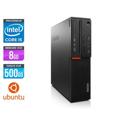 Lenovo ThinkCentre M800 SFF - i5 - 8Go - 500Go HDD - Linux