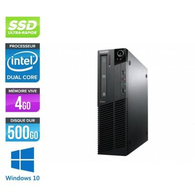 Lenovo ThinkCentre M82 SFF - G645 - 4Go - 240go SSD - Windows 10