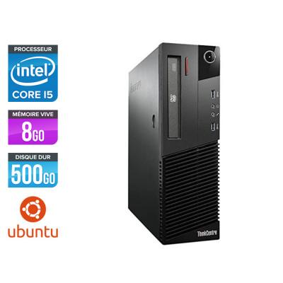 Lenovo M83 SFF - i5 - 8 Go - 500Go HDD - Ubuntu / Linux