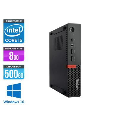 Lenovo M910Q USFF - i5 - 8 Go - 500 Go HDD - Windows 10