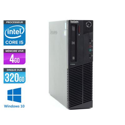 Lenovo ThinkCentre M91P Desktop - i5 - 4Go - 320Go - Windows 10