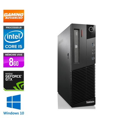 Lenovo M93P SFF - i5 - 8Go - GTX 1050 - 500 Go HDD - Windows 10