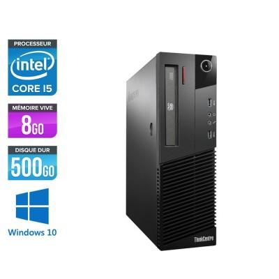Lenovo M93P SFF - i5 - 8Go - 500 Go HDD - Windows 10