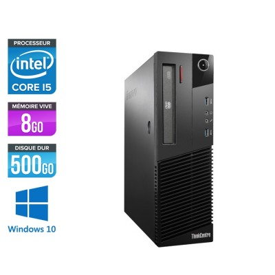 Lenovo M93P SFF - i5 - 8Go - 500 Go HDD - Windows 10