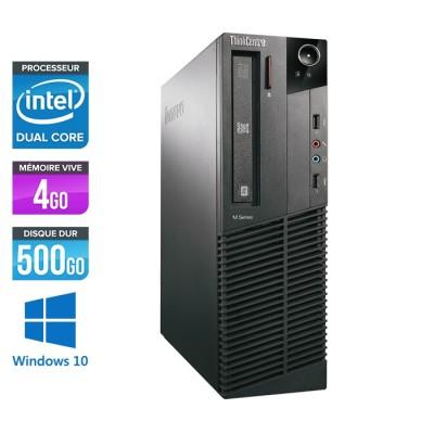 Lenovo ThinkCentre M82 SFF - G645 - 4Go - 500Go - W10