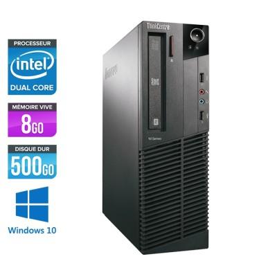 Lenovo ThinkCentre M82 SFF - G645 - 8Go - 500Go - W10