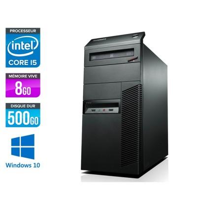 Lenovo ThinkCentre M91P Tour - i5 - 8Go - 500Go - Windows 10
