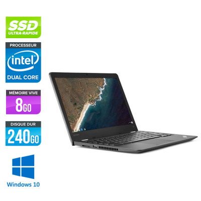 Lenovo ThinkPad 13- Celeron - 8Go - 240 Go SSD - Windows 10 Famille
