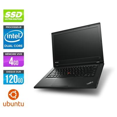 Lenovo L440 -  Celeron 2950M - 4Go - 120Go SSD - Linux Ubuntu