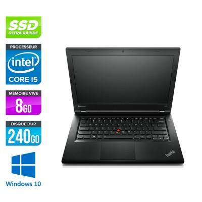 Lenovo L440 -  Celeron 2950M - 8Go - 240Go SSD - Windows 10 home