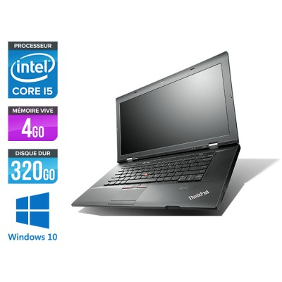 Lenovo ThinkPad L530 - Core i5 - 4 Go - 320 Go HDD - Windows 10