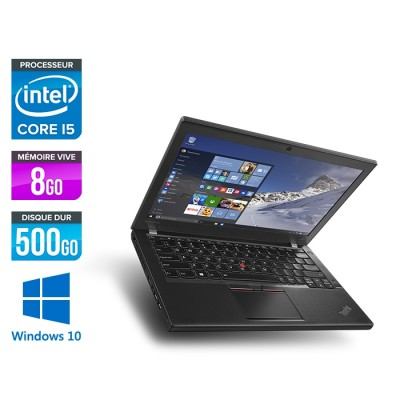 Lenovo ThinkPad L560 - i5 - 8Go - 500Go HDD - webcam - Windows 10