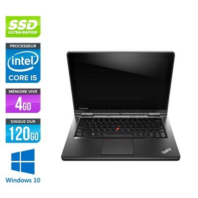 Ordi portable reconditionné - Lenovo Yoga S1 - i5 - 4Go - 120Go SSD - Windows 10