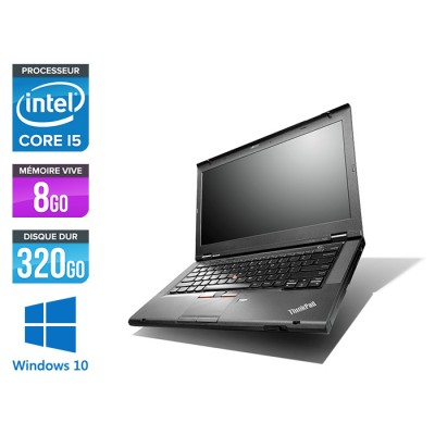Lenovo ThinkPad T430 - i5 - 8Go - 320Go - Windows 10