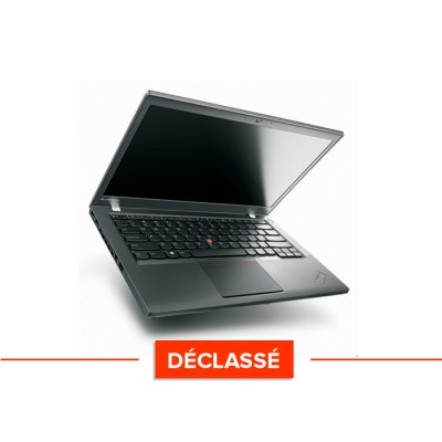Lenovo ThinkPad T440 declasse - i5 - 4Go - 128Go SSD - Windows 10