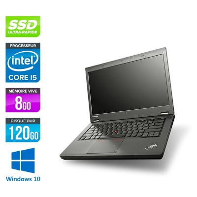 Lenovo ThinkPad T440P - i5 - 8Go - 120Go SSD - Windows 10