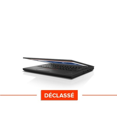 Lenovo ThinkPad T460 - i5 6300U - 8Go - SSD 240Go - Windows 10 Declasse