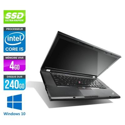 Lenovo ThinkPad T530 - i5-3320M - 4Go - 240Go SSD - Windows 10