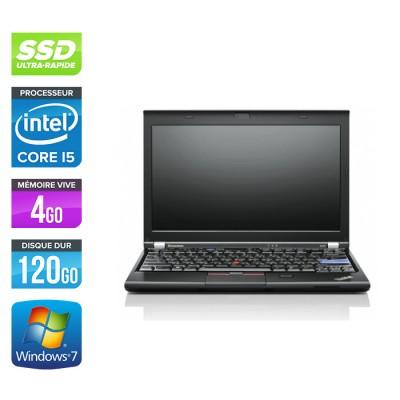 Lenovo X220 - i5 - 4Go -120Go SSD - 12,5'' - W7