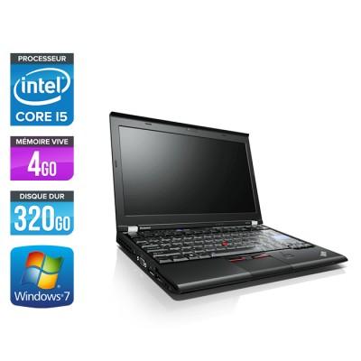 Lenovo X220 - i5 - 4Go -320Go HDD - 12,5'' - W7