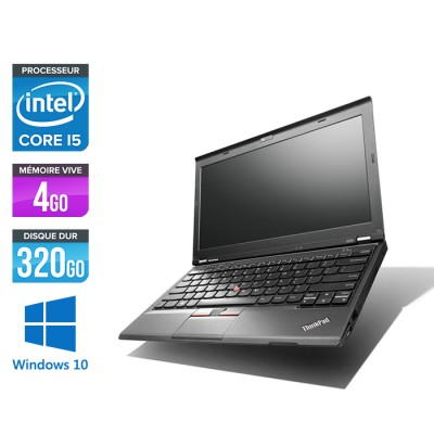 Lenovo ThinkPad X230 - Core i5-3320M - 4Go - 320 Go HDD - Windows 10
