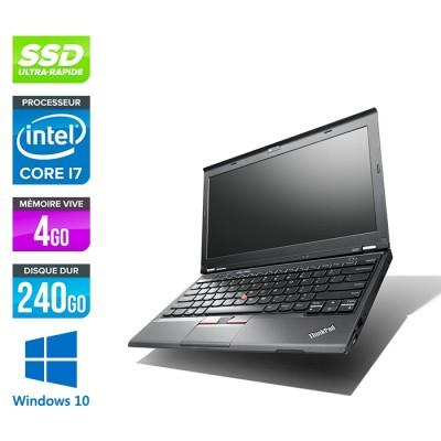 Lenovo ThinkPad X230 - i7 - 4 Go - 240 Go SSD - Windows 10