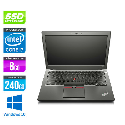 Lenovo ThinkPad X250 - i5 5300U - 8Go - 240 Go SSD - Windows 10