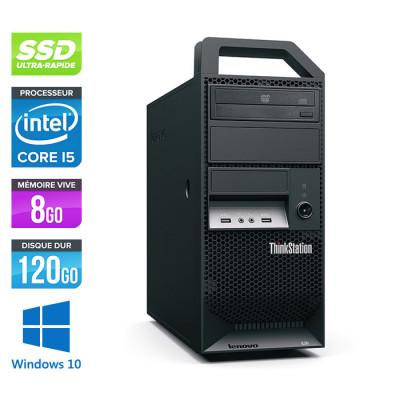Lenovo ThinkStation E31 Tour - i5 - 8Go - 120Go SSD - 500Go HDD - Windows 10