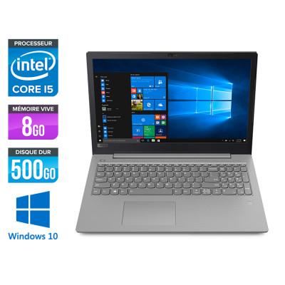 Pc portable reconditionné - Lenovo V330-15IKB - i5 7200U - 8Go - HDD 500Go - Windows 10 professionnel