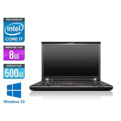 Lenovo ThinkPad W530 - i7 - 8 Go - 500 Go HDD - Nvidia K2000M - Windows 10