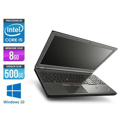 Lenovo ThinkPad W541 -  i5 - 8Go - 500Go HD - Nvidia K1100M - Windows 10