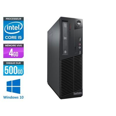 Lenovo ThinkCentre M72E SFF - Core i5 - 4Go - 500Go - Windows 10