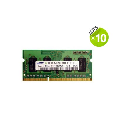 Lot 10 X 1 Go - DDR3 - PC3-8500S
