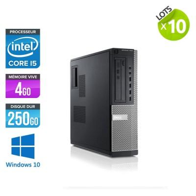 ]lot de 10 ordinateurs de bureau Dell Optiplex 7010 - i5 - 4 Go - 250 Go HDD - Windows 10