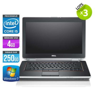 Lot de 3 Dell Latitude E6420