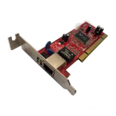Carte réseau LYCOM NW-100 - 1000/100/10 - Gigabit Ethernet - PCI Host - Low Profile
