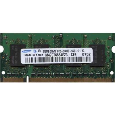 Samsung - M470T6554EZ3-CE6 - 512 MB - DDR2 - 667 MHZ - PC2 5300S