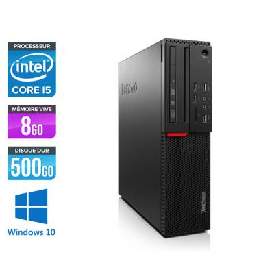 Lenovo ThinkCentre M800 SFF - i5 - 8Go - 500Go HDD - Windows 10